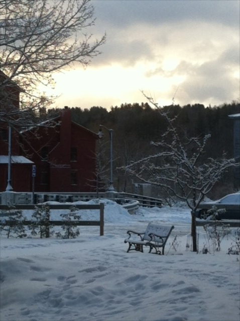morning at Vermont Studio Center